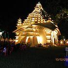 Durga Puja Pandal Salt Lake, CJ Block by Mahesh Kumar