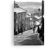 Haworth Highstreet BW Canvas Print