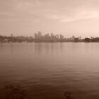 View of Seattle from Gas Works Park by suzyjaclyn