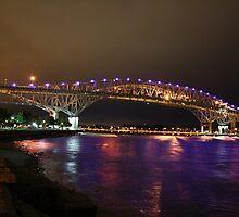 Twin Bridges 2 by Erynne  Cameron