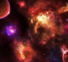 Pulsar Nebula by charmedy