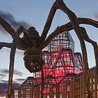 Spider attacks the National Art Gallery by Josef Pittner