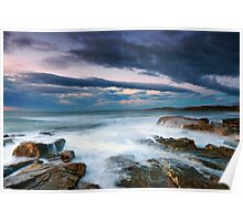 Rocky Beach Outlook Poster