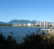 Vancouver Seen From Across Burrard Inlet by Charnell Steadman