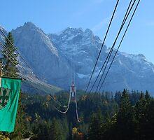 Zugspitze cable-car, Garmisch-Partenkirchen, Bavaria by Futurama