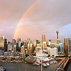 rainbows over Sydney by SUBI