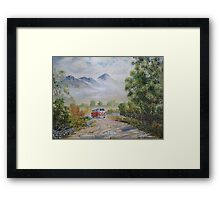 Road to Croagh Patrick. Framed Print