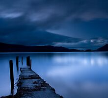 Dusk at Lake District by Martin76