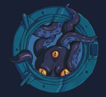 Porthole Monster by rachelgeorge