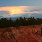 Sunset at Bryce Canyon by Laurel Talabere