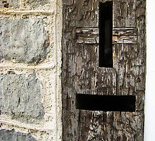 Early 19th-Century Wooden Post Box, Lyme Regis, Dorset, UK by buttonpresser