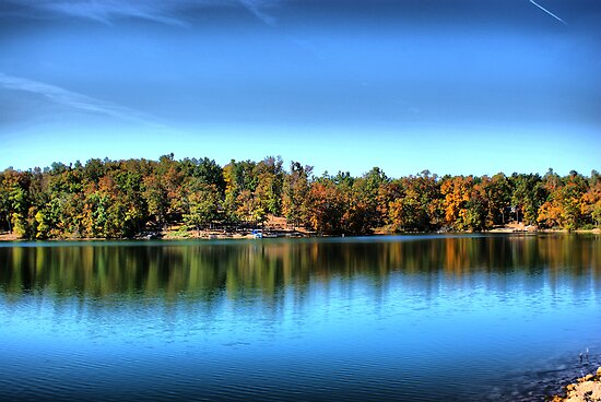 Autumn Lake by Rick  Friedle