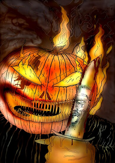 JACK O LANTERN- The Killer by morphfix