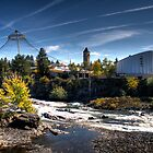 Spokane Riverfront Falls by Arelle Hall