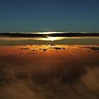 Sunset Over The Great Australian Bight  by Tizimagen