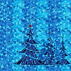 Blue Christmas by Beatriz  Cruz