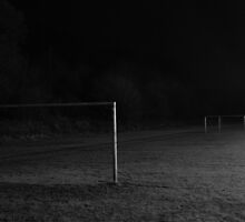 winter football pitch by Chris Fernandes