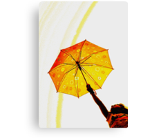 little ray of SUNSHINE Canvas Print