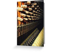 Antique MusicMaker Greeting Card
