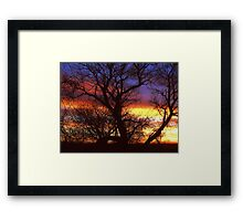 Lite The Sky With Color ! Framed Print