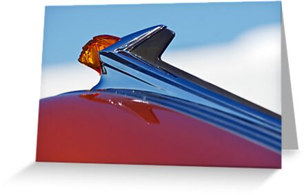 "1952 Pontiac ""Chief"" Hood Ornament by Jill Reger"