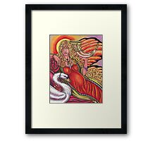 03 Empress Framed Print
