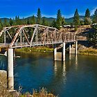 Westfall Bridge, Lozeau, Montana by Bryan D. Spellman