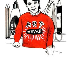 Art Attack - Neil Buchanan by burntfeather