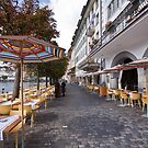 Luzern cafe,s by doug hunwick