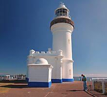 Cape Byron Lighthouse by Kym Howard