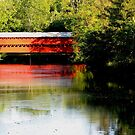 Sach's Covered Bridge Gettysburg Pa by AngieDavies