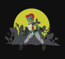 Trash (Return of the Living Dead) T-shirt by Dan Fabris