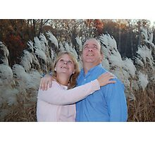 25th Wedding Anniversary Photographic Print
