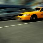 New York cab by DamianBrandon