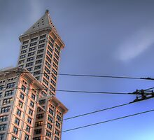 The Smith Tower in HDR by Abara  Ijiomah