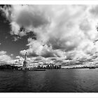 Liberty and Manhattan by DamianBrandon