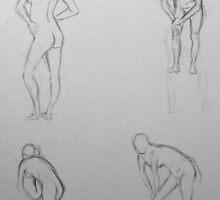 Gesture Drawing II by LaNanDeSha