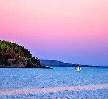 Bar Harbor Sunset - Bar Harbor, Maine by Larry Darnell