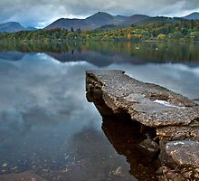 Autumn dawns over Derwent water by Shaun Whiteman