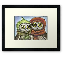 Two sisters Framed Print