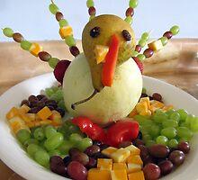 fruit turkey by Leeanne Middleton
