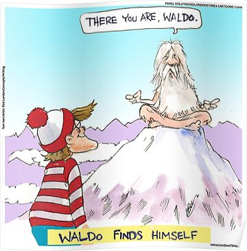 Waldo Finds Himself by Londons Times Cartoons by Rick  London