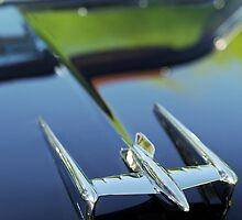 1950 Oldsmobile Rocket 88 Hood Ornament 2 by Jill Reger