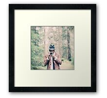 The Wild Photographer Framed Print