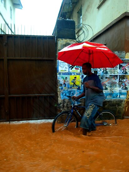 Rain in Freetown III by heinrich