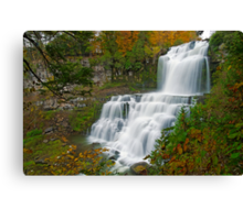 Overview in Autumn - Chittenango Falls Canvas Print