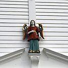 A wooden Saint by Lee d'Entremont