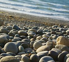 Agate Beach Pebbles by tarenjane
