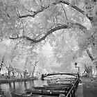 Pont des Amours, Annecy, France by Ann Garrett