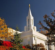 Bountiful LDS Temple by Ryan Houston